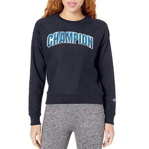 Champion Reverse Weave Crew Sweatshirt Big Logo S